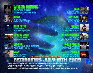 Beginnings Flyer - Back